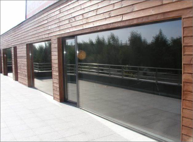 Alumiini-ikkunat ja -julkisivut