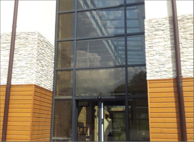 Aluminium fönster fasader