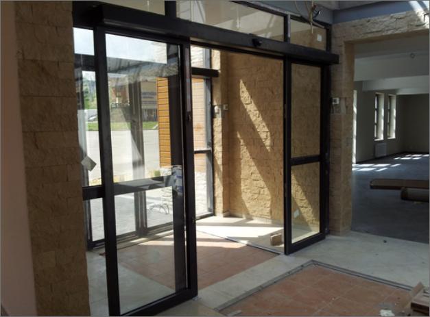 Aluminiumfönster och -fasader