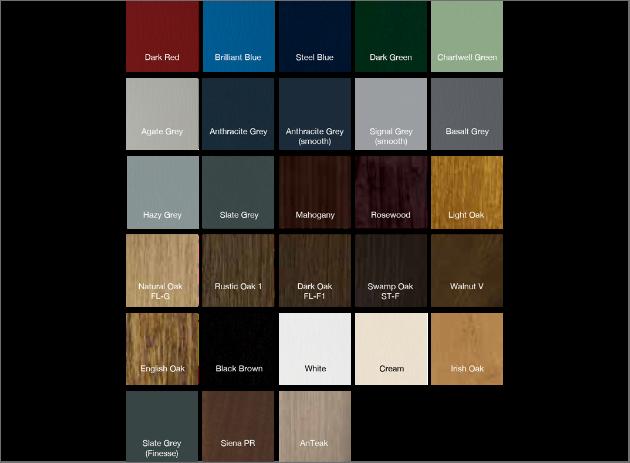 värit - färger